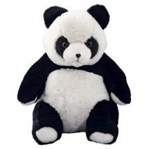 Plüsch Panda Steffen, groß - schwarz/weiß