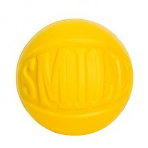 """SQUEEZIES® Statement Ball """"SMILE"""" - gelb"""