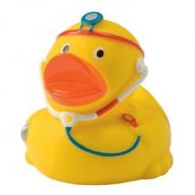 Quietsche-Ente Doktor - gelb