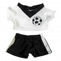Fußball-Dress Gr. S - schwarz/weiß