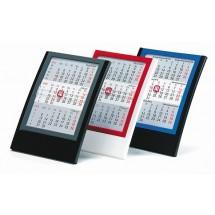 Tischkalender Elegance 6-sprachig-anthrazit