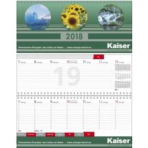 """Tischkalender """"Business-plus Register""""-schwarz /880_ rot"""