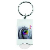Metmaxx® EK-Schlüsselanhänger BudgetPromo weiß - weiß