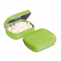 Kleine Klappdeckeldose - lime grün