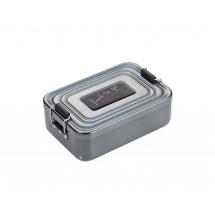 Lunch-Box FOOD TO GO- titanfarben
