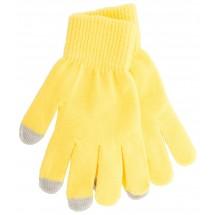 """Handschuhe für Touchscreen """"Actium"""" - gelb"""