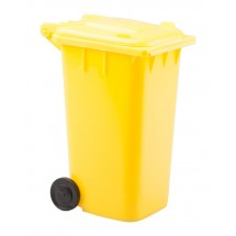 "Federhalter ""Dustbin"" - gelb"
