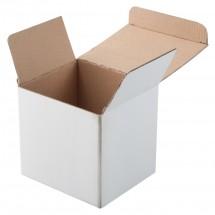 """Karton Geschenkbox """"Three"""" - weiss"""