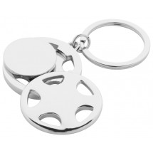 "Schlüsselanhänger ""Dromo"" - silber"