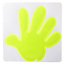 """Reflektionssticker Hand """"Astana"""" - gelb"""