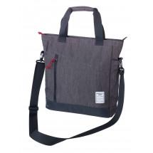 Business Schultertasche BUSINESS SHOULDER BAG - anthrazit, schwarz