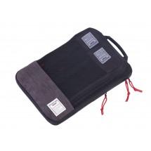 Reise-Kompressionstaschen Set BUSINESS PACKING CUBES - anthrazit, schwarz