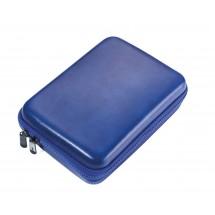 Organizer-Etui mit Reißverschluss BLUE TRAVEL CASE - blau, schwarz
