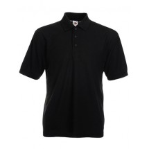 65/35 Piqué Polo - Black