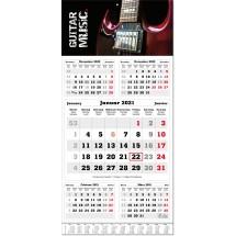 5-Monatsplaner Classic times 5, mit Jahresübersicht