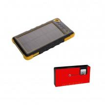 Schwarzwolf outdoor® IKIMBA Solarpowerbank - gelb