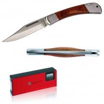 Schwarzwolf outdoor® JAGUAR 11cm Taschenmesser mit Holzgriff
