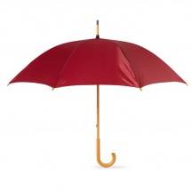 Regenschirm mit Holzgriff CALA - burgund