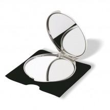 Make-up Spiegel SORAIA - silber matt