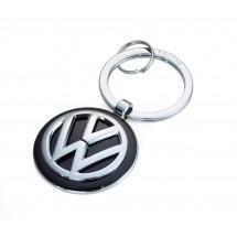 Schlüsselanhänger VW VOLKSWAGEN KEYRING - schwarz, silber