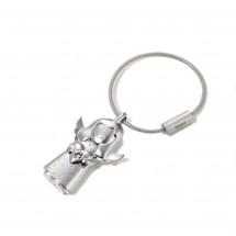 Schlüsselanhänger VALERIE - silber