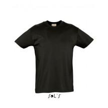 Organic Cotton Men T-Shirt - Deep Black