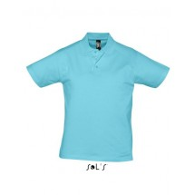 Men Polo Shirt Prescott - Atoll Blue