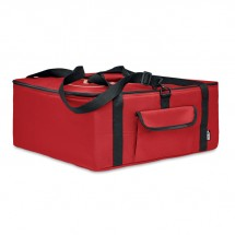 PIZZAWAY Isolierende Pizza-Tasche RPET rot