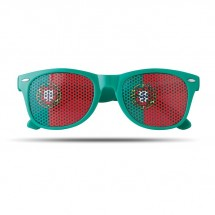 Fan Sonnenbrille FLAG FUN - gemischt