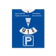 PVC Parkscheibe PARKCARD - blau