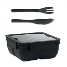 SATURDAY Lunchbox PP 600ml schwarz