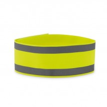 Lycra Sport-Armband VISIBLE ME - neon gelb