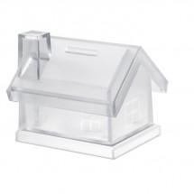 Spardose Haus MYBANK - transparent