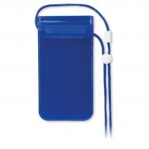 Wasserfeste Smartphone Hülle COLOURPOUCH - transparent blau