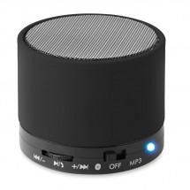 Bluetooth Lautsprecher, rund ROUND BASS - schwarz