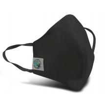 """Fairtrade Mundschutzmaske """"Schwarz"""""""