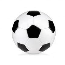 Kleiner PVC Fußball MINI SOCCER - weiß/schwarz
