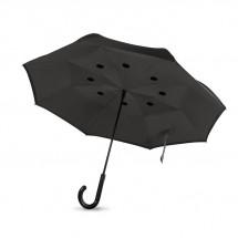 Reversibler Regenschirm DUNDEE - grau