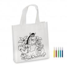 Kinder Shopping Tasche SHOOPIE - weiß