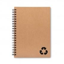 Notizbuch mit Steinpapier STONEBOOK - schwarz