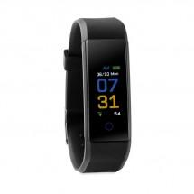 BT 4.0 Fitness Armband MUEVE WATCH - schwarz