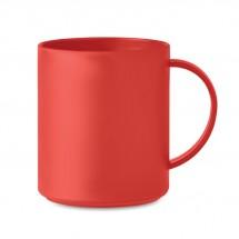 MONDAY Kaffeebecher 300ml rot