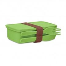 SUNDAY Lunchbox mit Besteck limette
