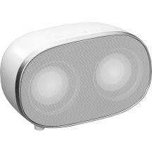 Bluetooth Speaker 2*3W weiß - weiß / silber