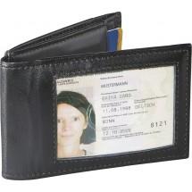 SNAP! Magnetisches RFID Karten- und Ausweisetui - schwarz