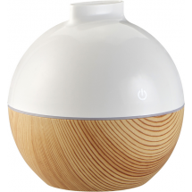 Luftbefeuchter m. LED u. Aroma - weiß