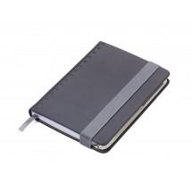 Notizblock DIN A6 inkl. Kugelschreiber SLIMPAD A6 - schwarz