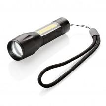 Fokussierbare 3W LED Leuchte mit COB - schwarz