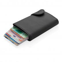 C-Secure XL RFID Kartenhalter mit Kleingeldfach - schwarz