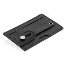 3-in1-RFID Kartenhalter für Ihr Smartphone - schwarz